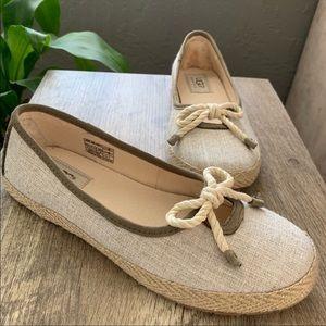 UGG Slip On Espadrilles Shoes Sz 6